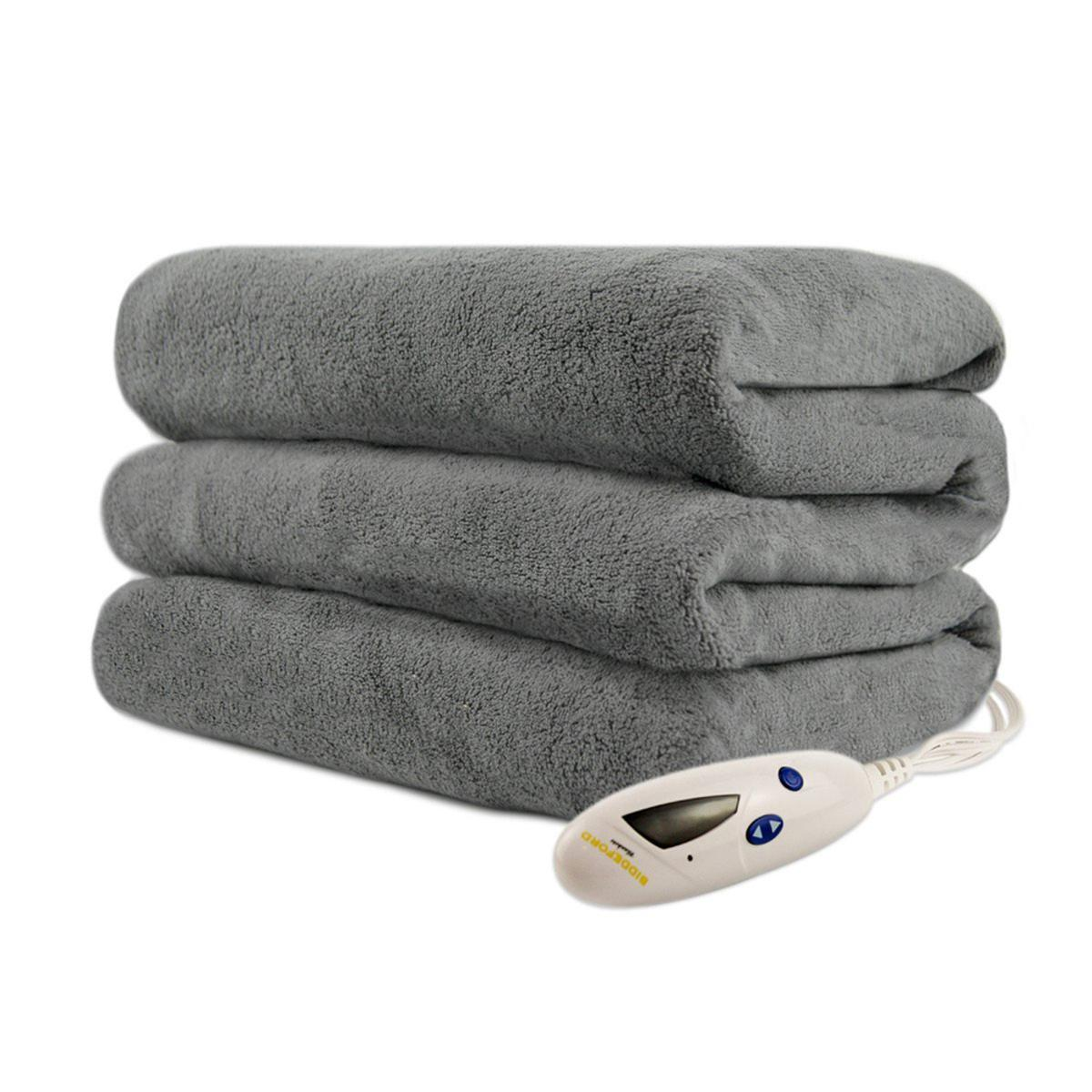 Biddeford Blankets Micro Plush Electric Heated Throw With Digital Controller My Cooling Store