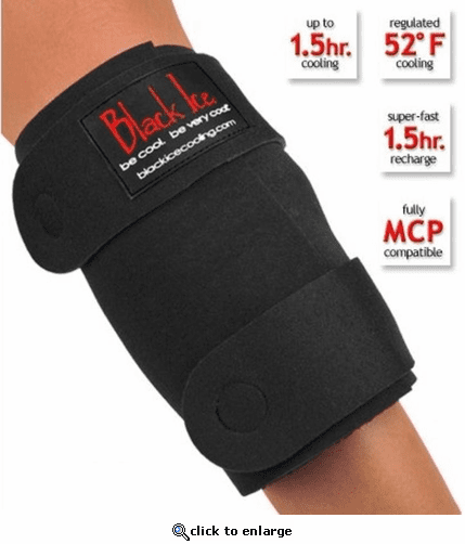 Black Ice CoolTherapy System - Knee Wrap (4 Pack)