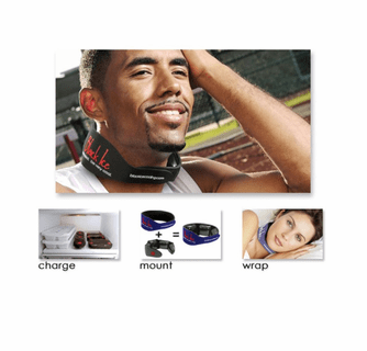 Black Ice CoolTherapy System - NTX Neck Pain Relief