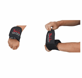 """Black Ice CoolTherapy System - STX Sports Injury Relief 28"""" Wrap Hand/Wrist (2 Pack)"""