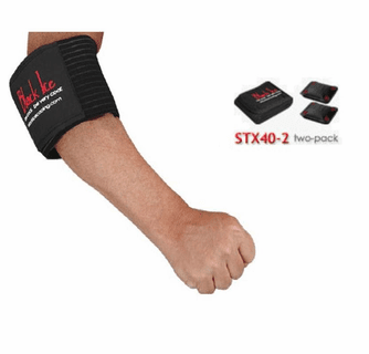 """Black Ice CoolTherapy System - STX Sports Injury Relief 40"""" Wrap Elbow (2 Pack)"""