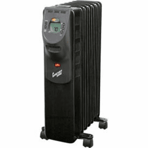 Comfort Zone Cz9009 Oil Filled Electric Radiator Heater