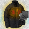 DeWalt 20V MAX XR Lithium Ion Quilted Heated Work Jacket with Battery Kit