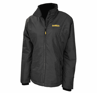 DeWalt 20V MAX XR Lithium Ion Women's Quilted Heated Jacket with Battery Kit