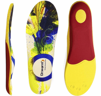 Dr.Warm Heated Insoles Rechargeable Battery Heated Insoles with Arch Support