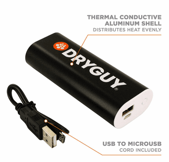 DryGuy Warm N' Charge - Rechargeable Hand Warmer/Power Bank