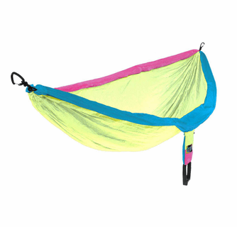Eagles Nest Outfitters DoubleNest Hammock - RetroTri Colored