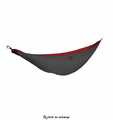 Eagles Nest Outfitters Ember 2 Under Quilt - Charcoal/Red