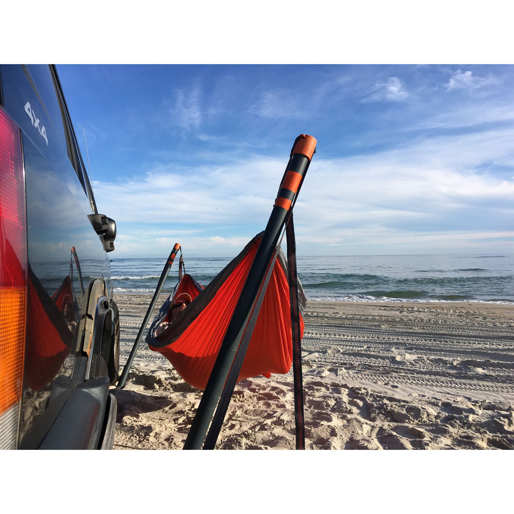 Eagles Nest Outfitters Roadie Hammock Stand Black My