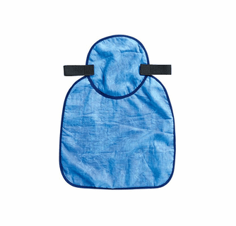Ergodyne Chill-Its 6717CT Evaporative Cooling Hard Hat Neck Shade w/Cooling Towel