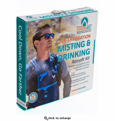 ExtremeMIST Retrofit Kit (Installs In Any Hydration Pack)