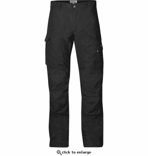 FjallRaven Men's Barents Pro Trousers - Black/Black