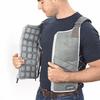 FlexiFreeze Professional Series Ice Vest Cooling Kit - Charcoal