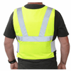 Glacier Tek High Visibility Cool Vest With Nontoxic Cooling Packs