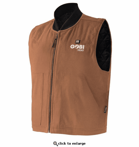Gobi Heat Ibex Men's 5 Zone Heated Workwear Vest