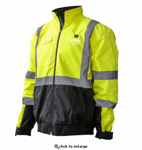 Gobi Heat Men's Flash HIVIS Reflective Heated Jacket