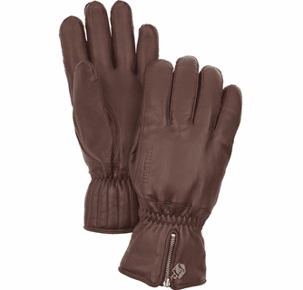 Hestra Leather Swisswool Classic 5-Finger Gloves