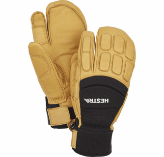 Hestra Vertical Cut CZone 3-Finger Gloves