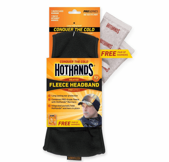 Hothands Fleece Heated Headband with Free Warmers