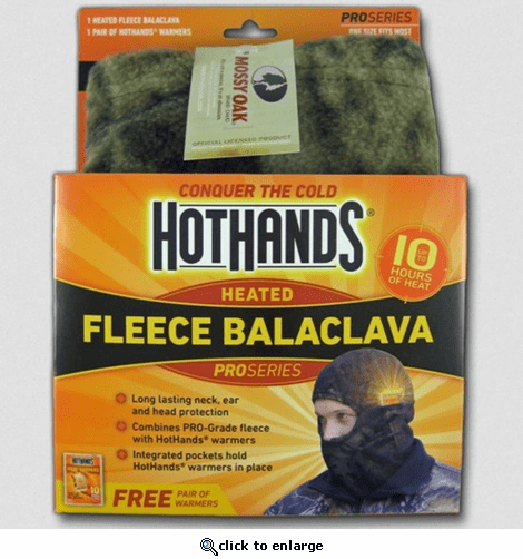 Hothands Heated Balaclava - Mossy Oak