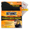 Hothands Heated Fleece Neck Gaiter - Black