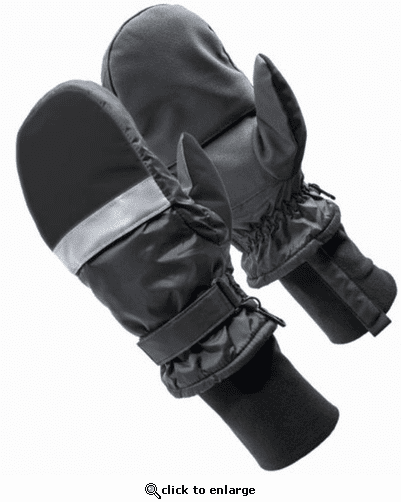 HXT Microwavable Heated Mittens - Black