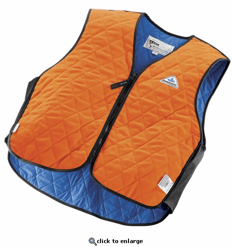 HyperKewl Evaporative Cooling Vest - Sport - Hi-Viz Orange - Fire Retardant