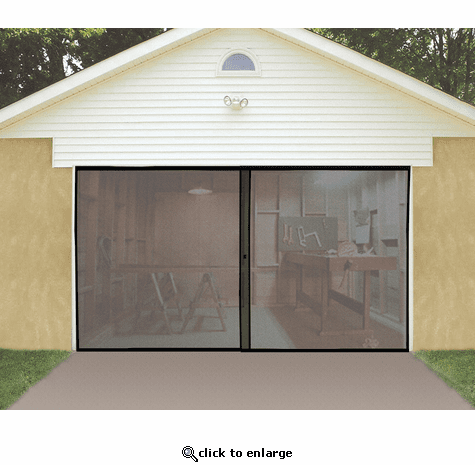 Jobar Single Garage Door Screen