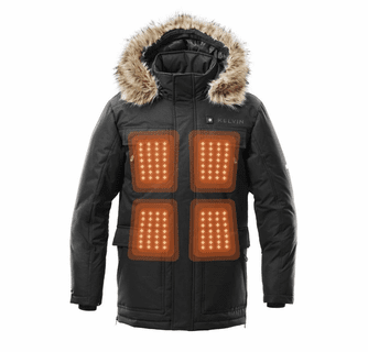 Kelvin Howard Men's Heated Parka Jacket