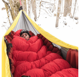 Klymit Insulated Hammock V Sleeping Pad - Red/Char Black