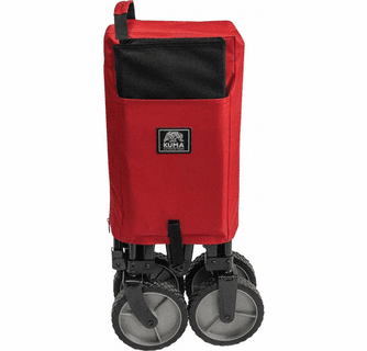 KUMA Outdoor Gear Bear Buggy Cart - Red/Black