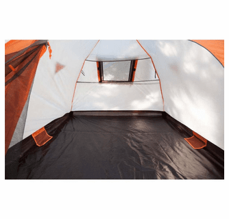 KUMA Outdoor Gear Bear Den 5 Tent - Graphite/Orange