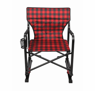 KUMA Outdoor Gear Spring Bear Chair - Red/Black