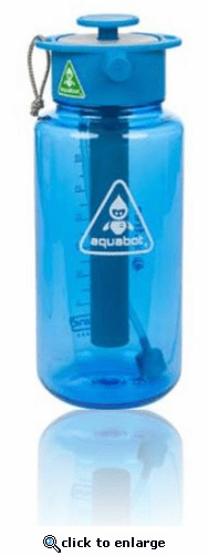 Lunatec Aquabot Comet 1000mL Water Bottle - Blue