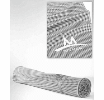 Mission Enduracool Techknit Extra Large Cooling Towel & Face Protection Cover