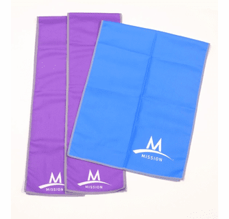 Mission Enduracool Towels & Face Protection Cover- 3pc Value Pack