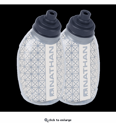 Nathan Fire & Ice 8 oz/235 mL Flasks 2-Pack