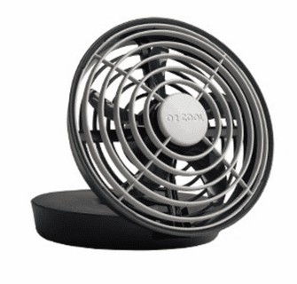 """O2 Cool 5"""" Battery or USB Powered Portable Jet Fan"""