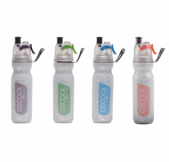 O2COOL ArcticSqueeze Insulated Mist 'N Sip Misting Bottle 20 oz
