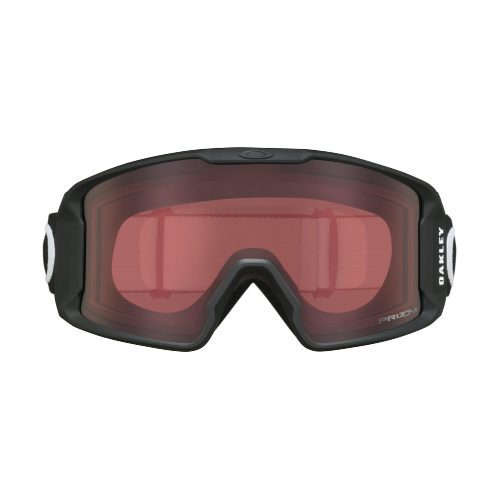 08939b73fd Oakley Line Miner XM Matte Black Snow Goggle w Prizm Snow Rose - My Cooling  Store