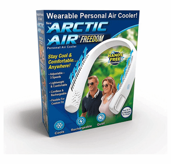 Ontel Arctic Air Freedom Portable Personal Small Air Cooler