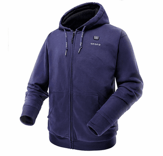 Ororo Battery Heated Hoodie with Battery Pack - Unisex