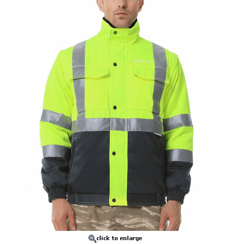 Ororo High Visibility Construction Safety Heated Jacket - Men's
