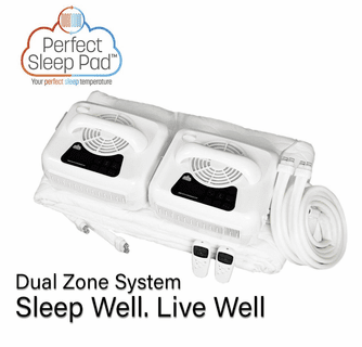 """Perfect Sleep Pad Cooling and Heating Pad - Water Activated Mattress Pad - Twin (Single Zone 38"""" x 75"""")"""