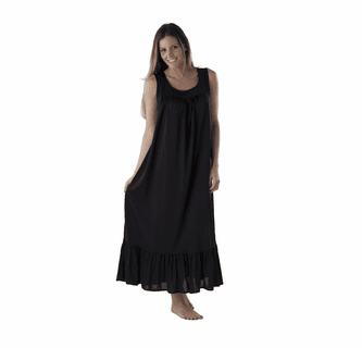 Performance Sleepwear Wicking Sleeveless Signature Gown