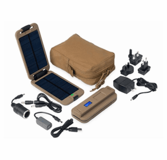 Powertraveller Powermonkey Extreme Tactical Waterproof Rugged Solar Powered Charger