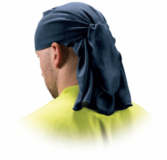 Pyramex Safety Skull Cap with Ties - Blue