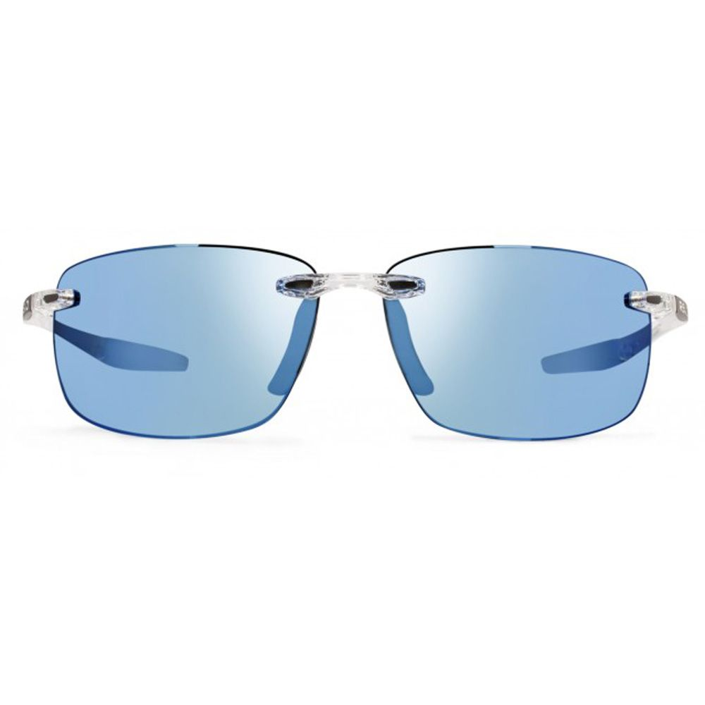 6a73ef9e77 Revo Unisex Descend N Rectangle Sunglasses Blue Water Lens with Crystal  Frame
