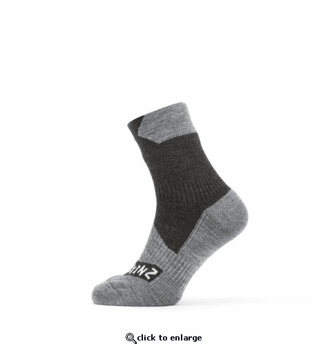 SealSkinz Men's Waterproof All Weather Ankle Length Socks