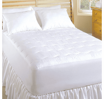 Serta 233TC Dobby Stripe Heated Mattress Pad - King
